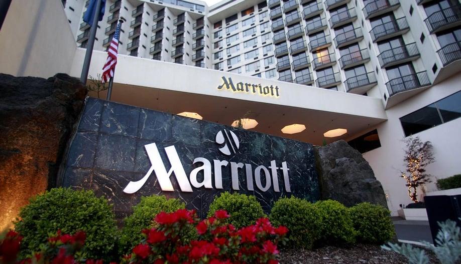 Данные Marriott International за I квартал. 6 тысяч объектов на 1,2 млн номеров. Прибыль выросла до $365 млн, средний RevPAR – на 3,1%. Управление, франшиза, собственность. 09.05.2017